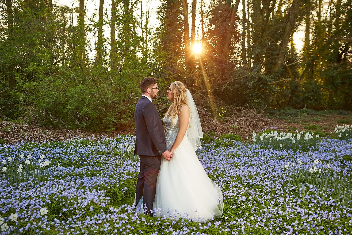 A couple take a moment together outdoors at Kenwick Park Hotel, Louth